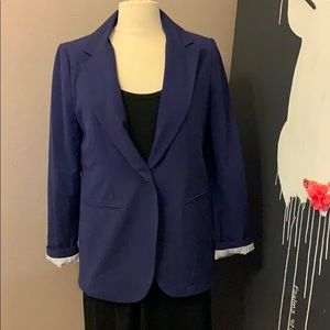 Women's blue blazer size medium